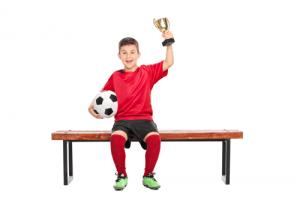 Fussball-Junge